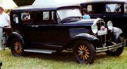 Willys Six 97 4-Door Sedan 1931