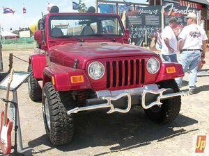 Fender jeep wrangler co