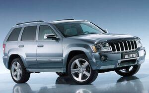 Jeep grand cherokee bluetec concept