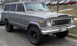 Jeep Wagoneer front