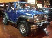 '10 Jeep Wrangler Sport (MIAS '10)