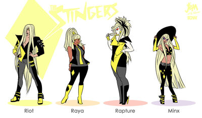The stingers by mooncalfe-da88aag