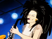 Jetta playin' sax