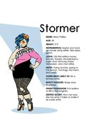 IDW Stormer character bio