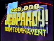 Jeopardy! Teen Tournament Season 13 Logo
