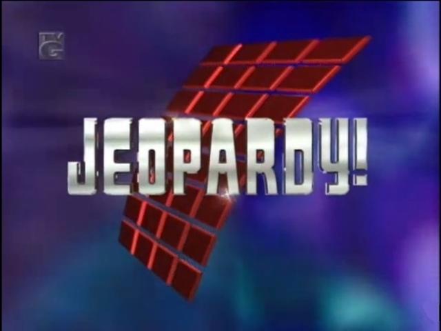 Jeopardy! Season 14 Logo
