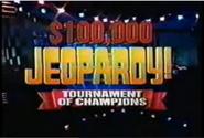 Jeopardy! Tournament of Champions Season 11-12 Logo