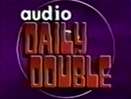 Rock & Roll Jeopardy! Audio Daily Double Logo