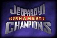 Jeopardy! Tournament of Champions Season 14-15 Logo