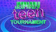 Jeopardy! Teen Tournament Season 27 Logo