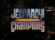 Jeopardy! Tournament of Champions Season 16 Logo