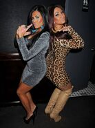 Tracey and Krystle
