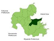 Map Oita en