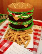 Big burger fake