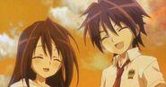 Alma and Yuuma's smile