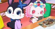 Rosa and Luea angry