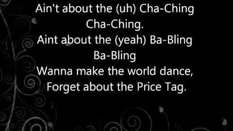 Jessie J - Price tag lyrics