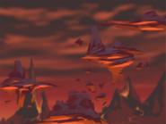 Platform Racing 3 - Volcano Background