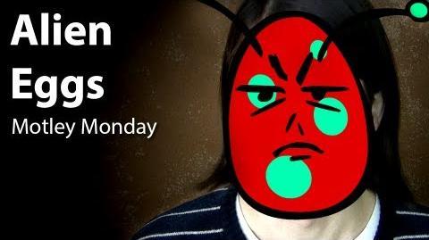 Motley Monday 16 - Alien Eggs