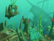 Platform Racing 3 - Underwater Background