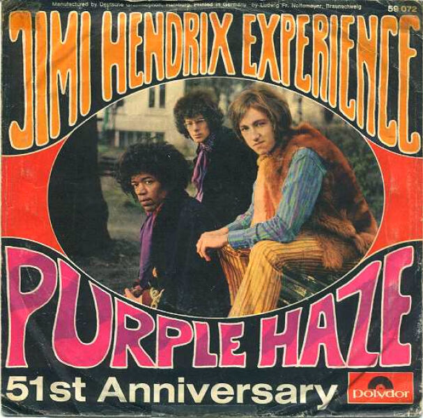 Purple Haze Jimi Hendrix Wiki Fandom Powered By Wikia