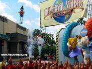 Universal Studios Jimmy Neutron's Nicktoon Blast Grand Opening