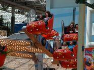 Nickelodeon Universe Jimmy Neutron's Atomic Collider seats