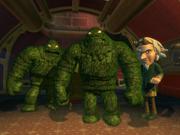 Algae Men (Seizing, The Evil Beneath)