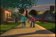 Libby And Sheen Holding Hands