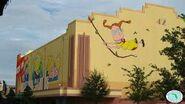 Universal Studios Jimmy Neutron's Nicktoon Blast back view