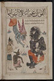 Kitab al-Bulhan -- jinns