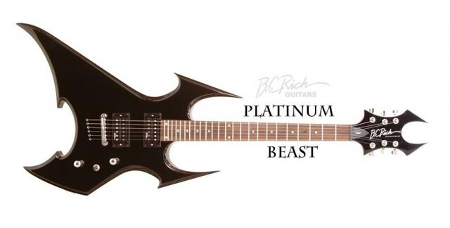 File:B.C. Rich Guitars - Platinum Beast
