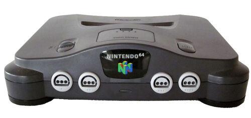 Nintendo 64 console 01