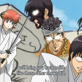 Shinpachi  as <a href=