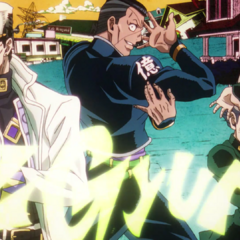 Okuyasu featured in the third opening, <i><a href=
