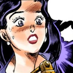 Ayana shocked at Koichi holding a knife