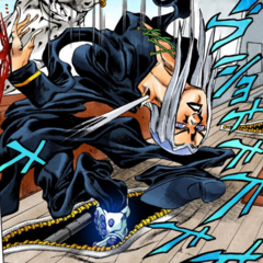 Leone Abbacchio deflated and abducted