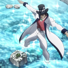 Zeppeli showing the <a href=