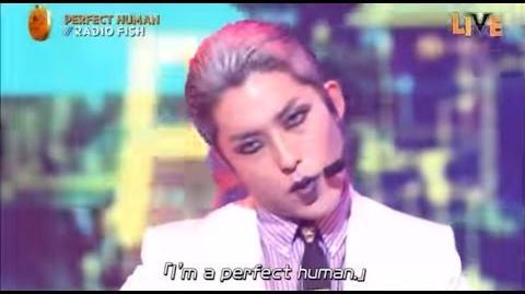 RADIO FISH 「PERFECT HUMAN」 「ULTRA TIGER」 ハロウィン音楽祭