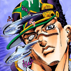 Whitesnake's ability on Jotaro