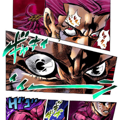 Doppio transforming into The Boss when angered