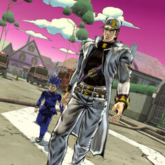 Part 4 Jotaro in-game, <i>EoH</i>