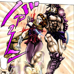 Lisa Lisa deceived and overcome by Kars