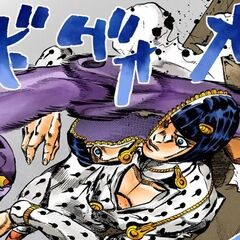 Bruno unzipping his head to dodge a punch