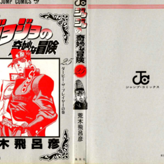The cover of Volume 25 without the dust jacket