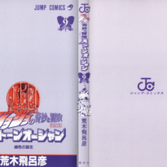 The cover of Volume 9 without the dust jacket