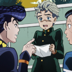 Trying to help Koichi's love issues with <a href=