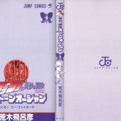 The cover of Volume 4 without the dust jacket