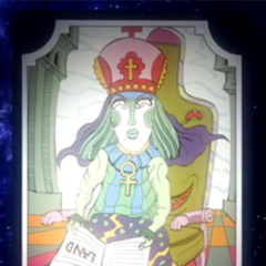 Tarot card representing the High Priestess