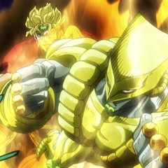 DIO summoning The World to take on <a href=